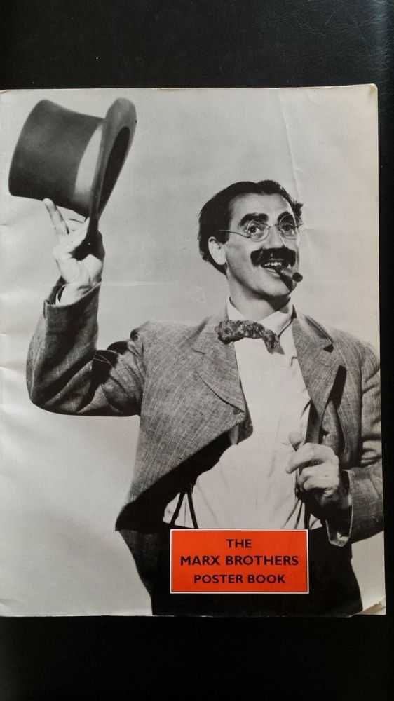 The Marx Brothers Poster Book, No Author Credited
