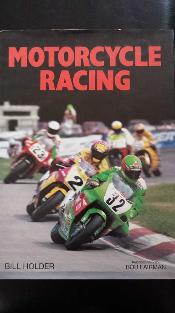 Motorcycle Racing, Bill Holder