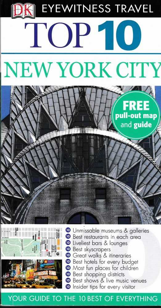 Top 10 New York City: DK Eyewitness Guide - Your Guide to the Best of Everything, Eleanor Berman