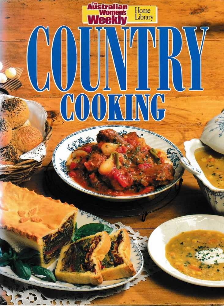Country Cooking, The Australian Women's Weekly
