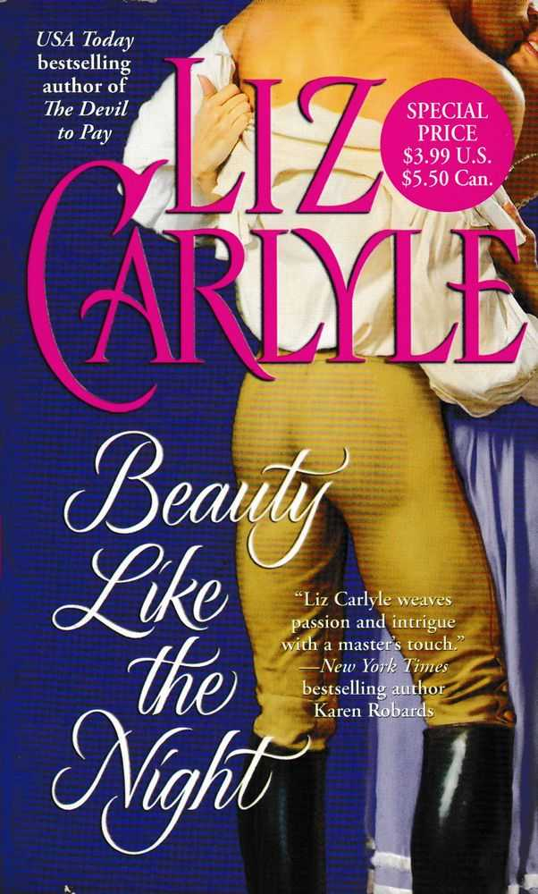 Beauty Like the Night, Liz Carlyle