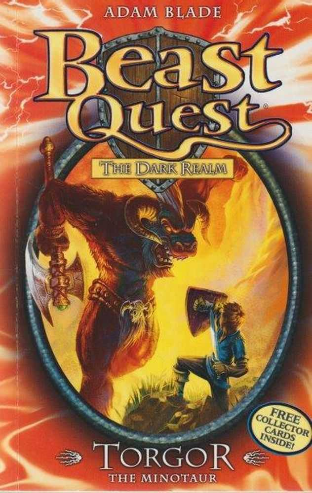 Beast Quest: The Dark Realm: 13: Torgor - The Minotaur, Adam Blade