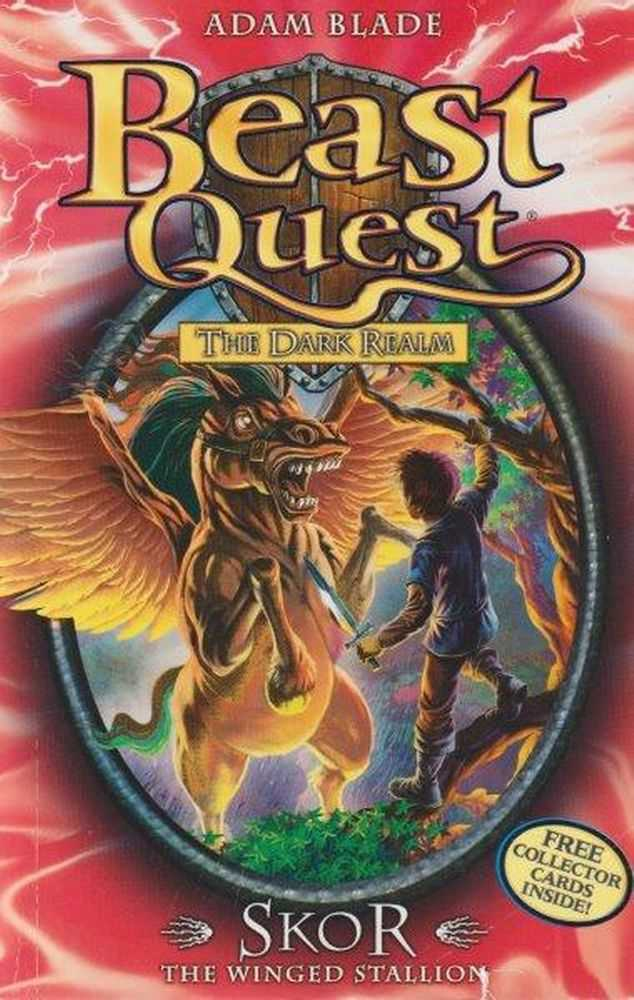 Beast Quest: The Dark Realm: 14: Skor - The Winged Stallion, Adam Blade