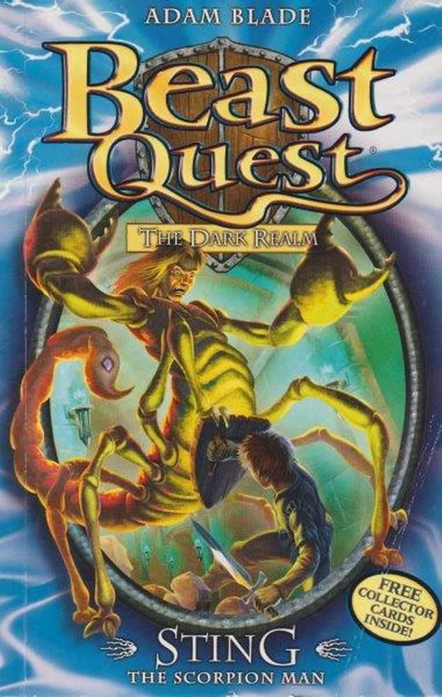 Beast Quest: The Dark Realm: 18: Sting - The Scorpion Man, Adam Blade