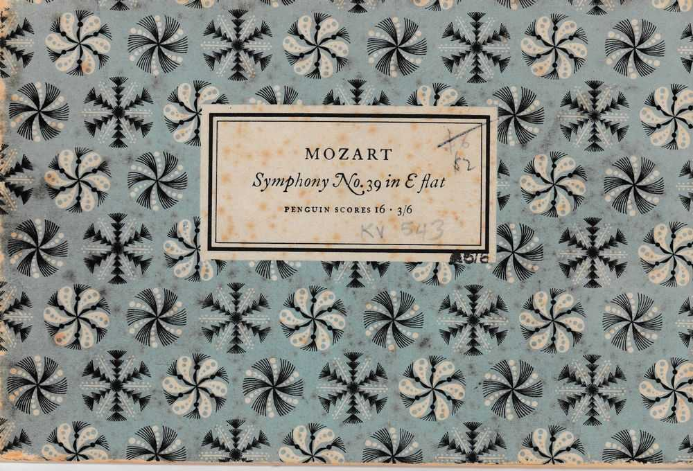 Mozart: Symphony No. 39 in E Flat [Penguin Scores 16], Gordon Jacob [Editor]