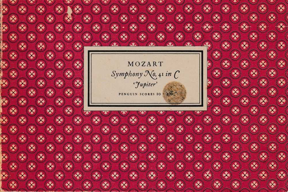 Mozart Symphony No. 41 in C 'Jupiter' [Penguin Scores 10], Gordon Jacob [Editor]