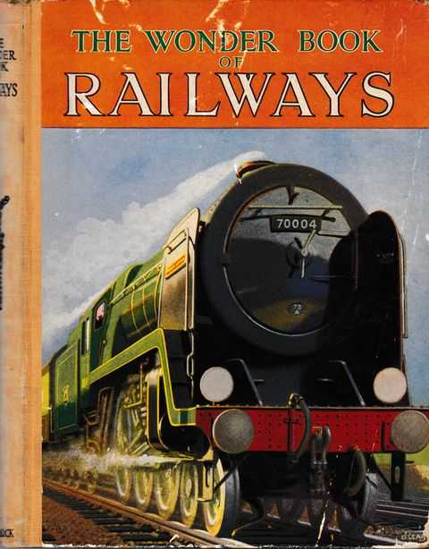 The Wonder Book of Railways, No Author Credited