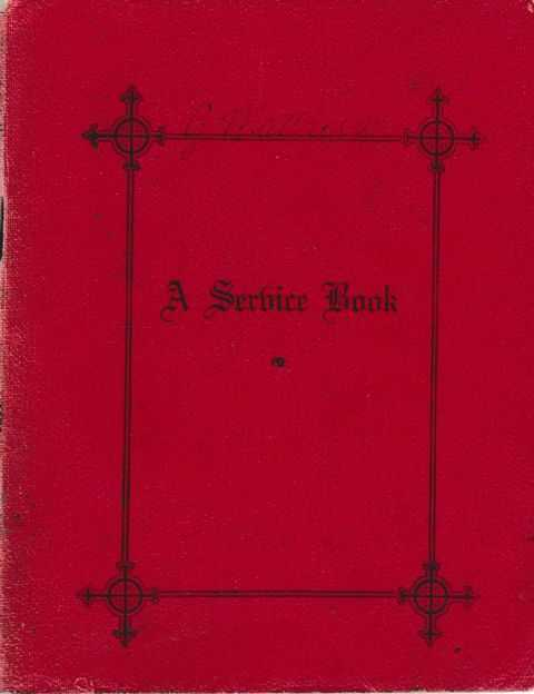 A Service Book, Archbishop of Brisbane [Authorised]