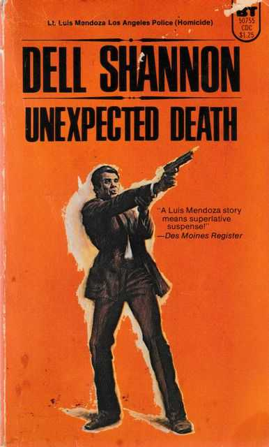 Unexpected Death, Dell Shannon