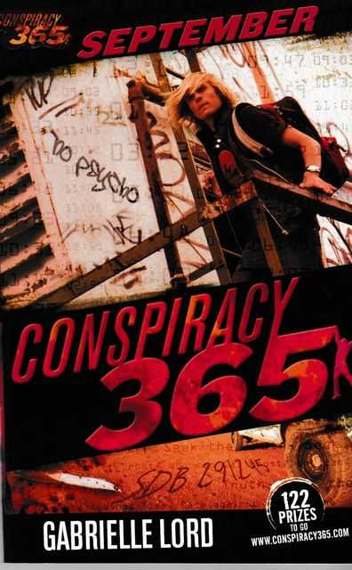 Conspiracy 365: Book Nine: September, Gabrielle Lord