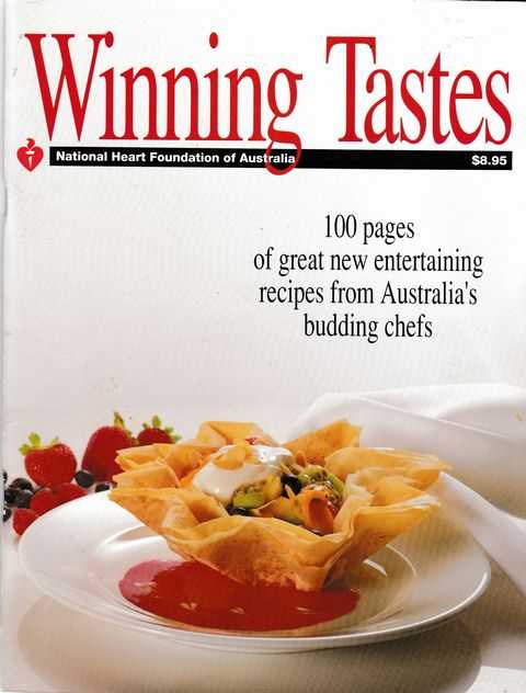Winning Tastes, National Heart Foundation of Australia