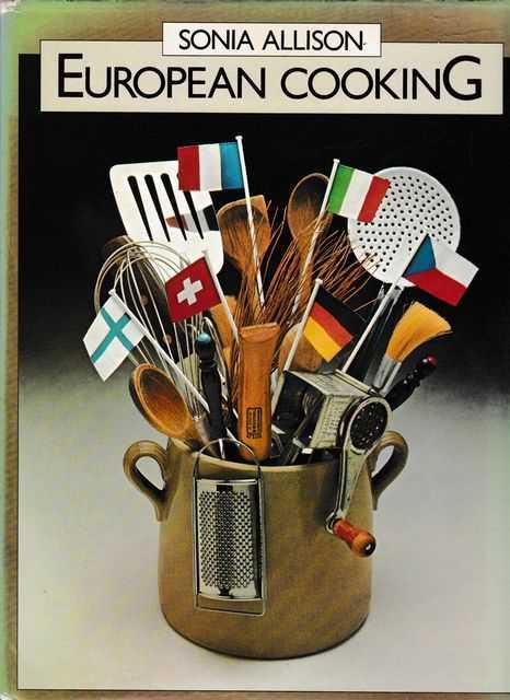 European Cooking, Sonia Allison