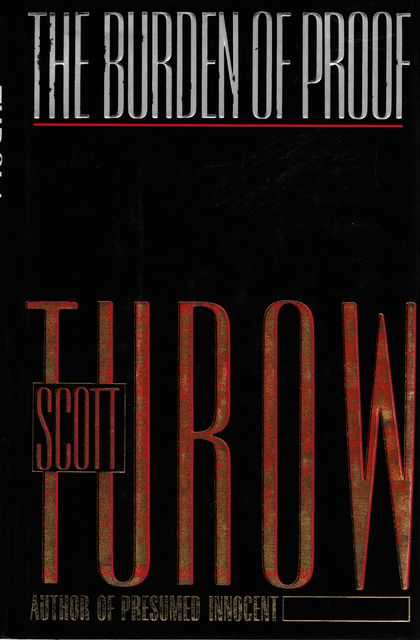 The Burden of Poof, Scott Turow