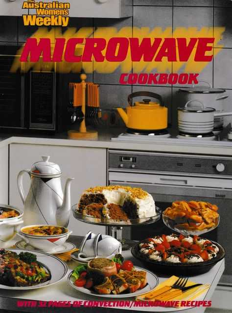 Microwave Cookbook, Australian Women's Weekly