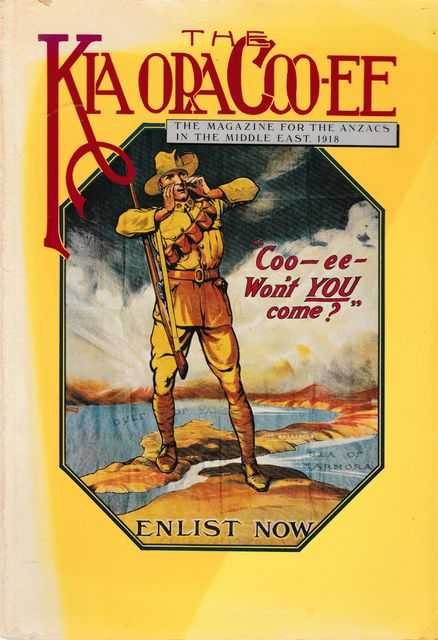 The Kia Ora Coo-ee: The Magazine for the Anzacs In The Middle East 1918, David Kent [Introduction]