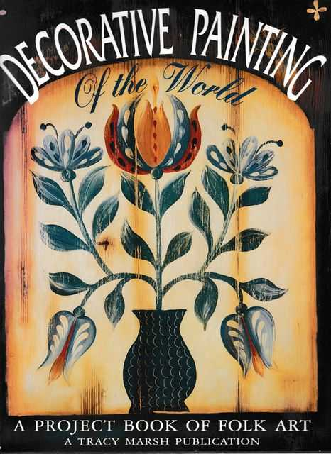 Decorative Painting: A Project Book of Folk Art, Tracy Marsh, Glynne McGregor