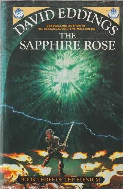 The Sapphire Rose [ Book Three Three of The Elenium], David Eddings
