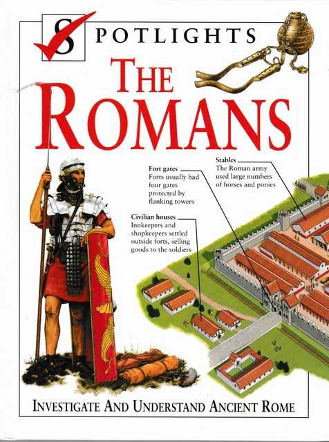 Spotlights: The Romans: Investigate and Understand Ancient Rome, John Haywood