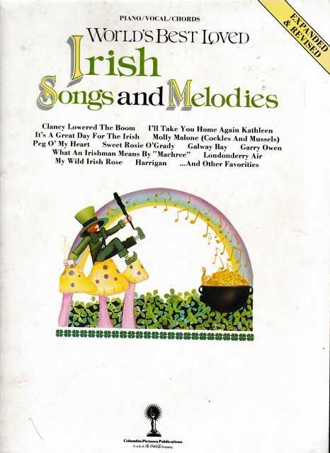 World's Best Loved Irish Songs and Melodies [Piano, Vocal, Chords], David C. Olsen [Editor]