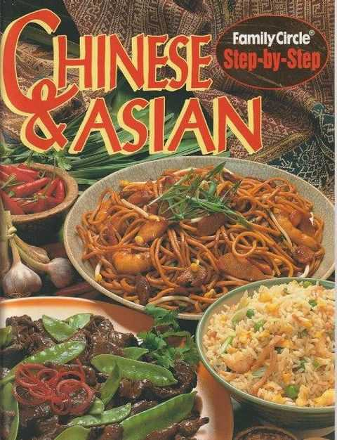 Family Circle Step-By-Step: Chinese & Asian, Rachel Carter