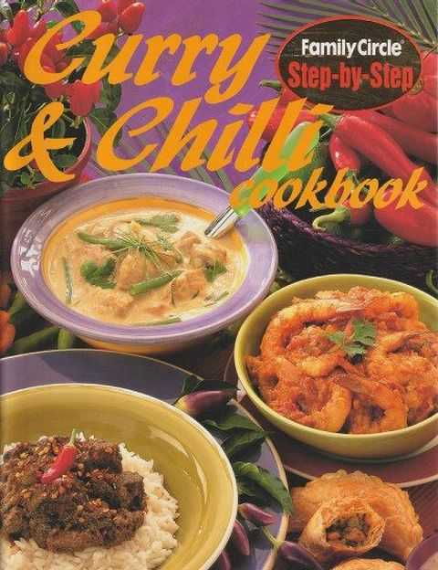 Family Circle Step-By-Step: Curry & Chilli Cookbook, Rachel Carter