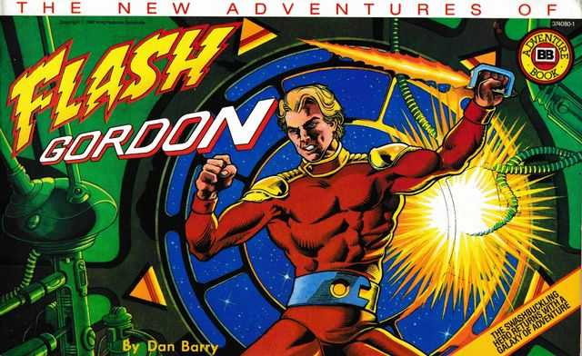 The New Adventures of Flash Gordon, Dan Barry