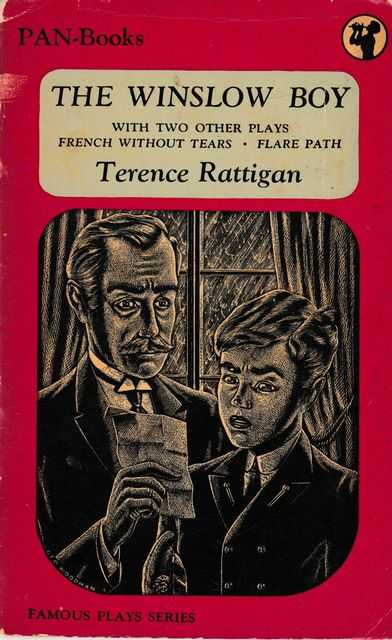 The Winslow Boy; French Without Tears; Flare Path, Terence Rattigan