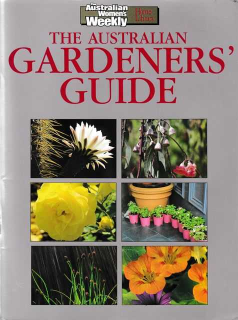 The Australian Gardeners' Guide, The Australian Women's Weekly