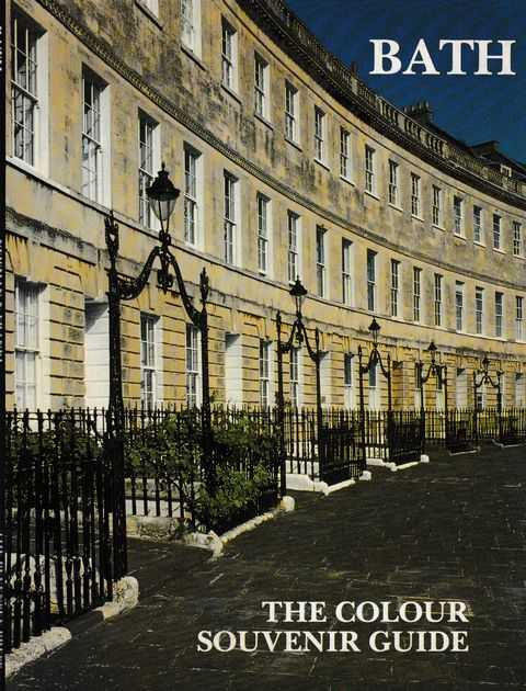 Bath: The Colour Souvenir Guide, Paul Newman