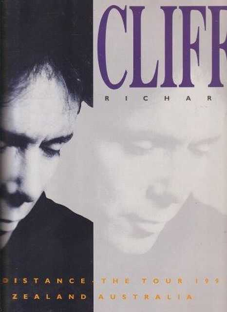 Cliff Richard From A Distance - The Tour 1991 - New Zealand and Australia - Includes Facsimile Of Hand Written Cliff Richard Letter, Cliff Richard
