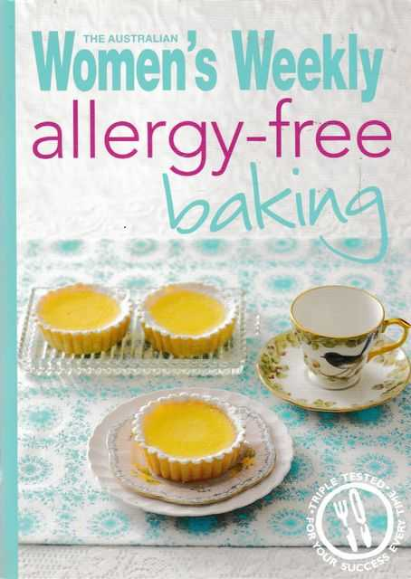 Allergy-Free Baking, The Australian Women's Weekly