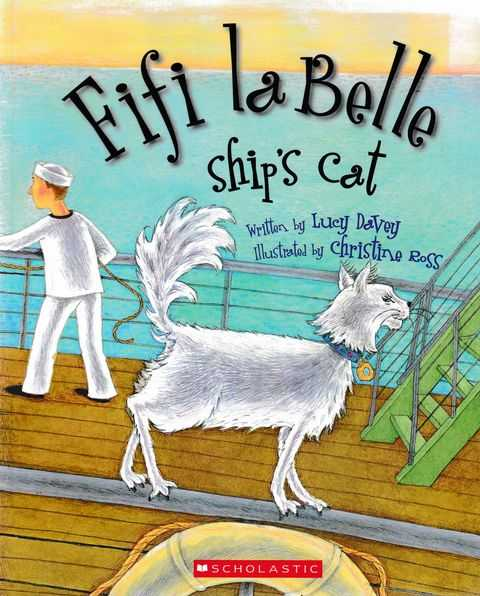 Fifi La Belle Ship's Cat, Lucy davey