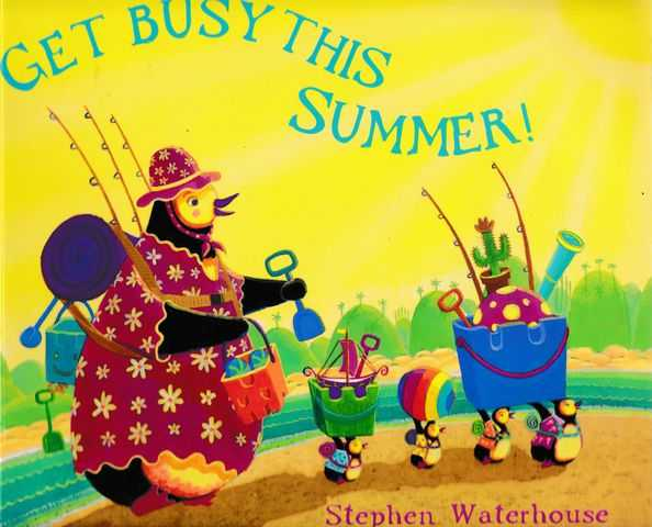 Get Busy This Summer, Stephen Waterhouse