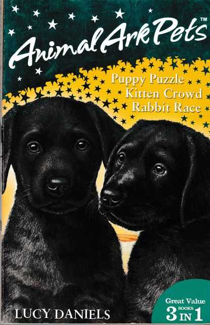 Animal Ark Pets: Puppy Puzzle; Kitten Crowd; Rabbit Race, Lucy Daniels