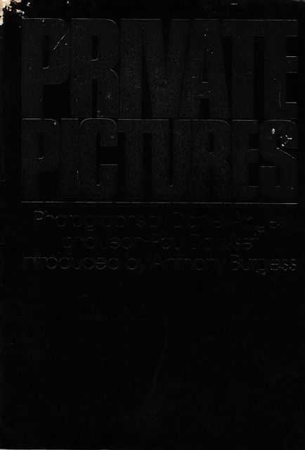 Private Pictures, Anthony Burgess [Introduction]