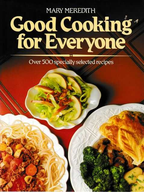 Image for Good Cooking for Everyone