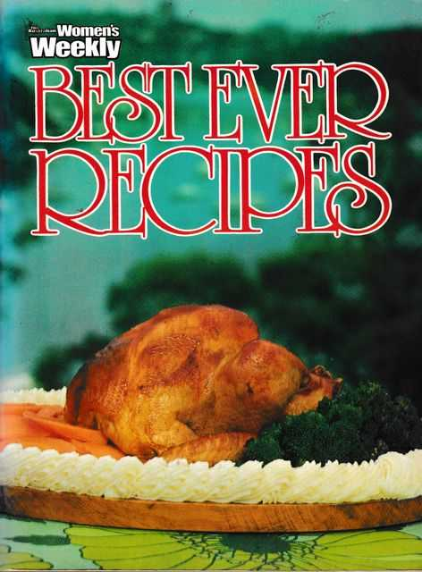 Best Ever Recipes, The Australian Women's Weekly