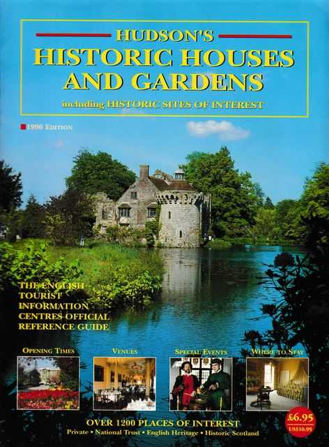 Hudson's Historic Houses and Gardens including Historic Sites of Interest, Norman Hudson & Company
