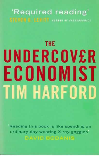 The Undercover Economist, Tim Harford