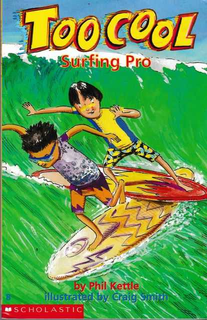 Too Cool 8: Surfing Pro, Phil Kettle