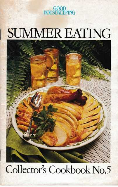 Image for Summer Eating [Collector's Cookbook No. 5]: Light and Luscious 4; Summer's Sweet Surpises 32