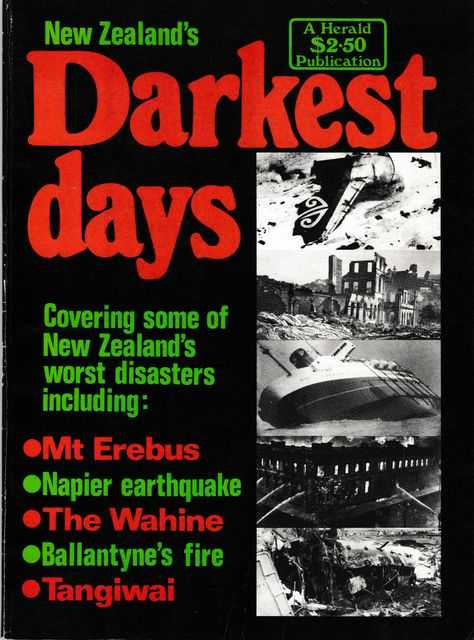 New Zealand's Darkest Days, Bruce Morris