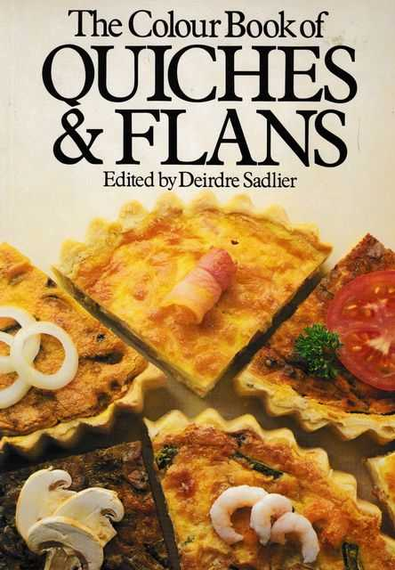 Image for The Colour Book of Quiches & Flans