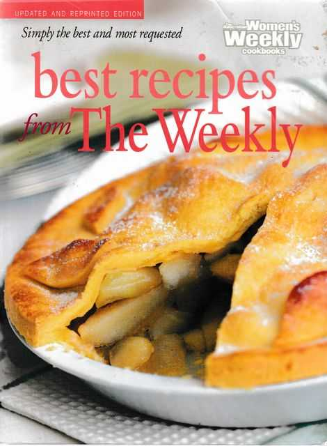 Best Recipes from the Weekly, The Australian Women's Weekly