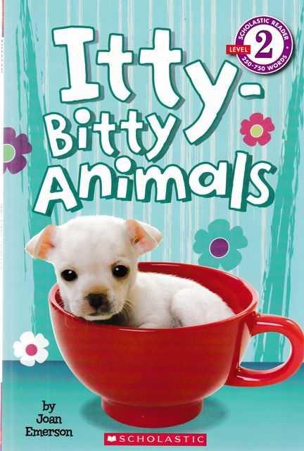 Itty-Bitty Animals, Joan Emerson
