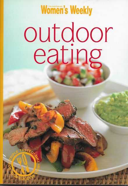 Outdoor Eating, The Australian Women's Weekly