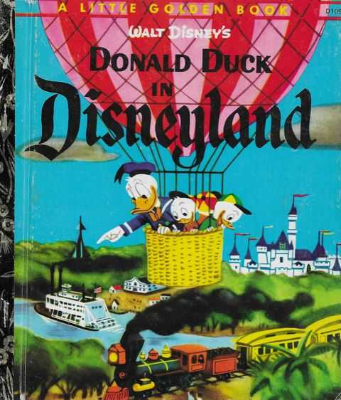 Walt Disney's Donald Duck in Disneyland, Annie North Bedford [Retold]
