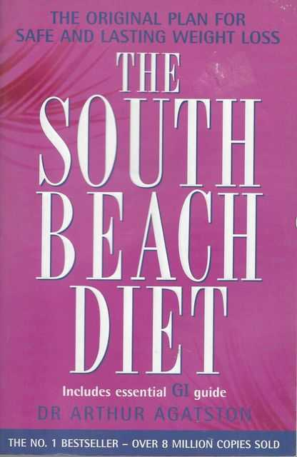 The South Beach Diet: The Original Plan for Safe and Lasting Weigt Loss [Includes Essential GI Guide], Dr Arthur Agatston