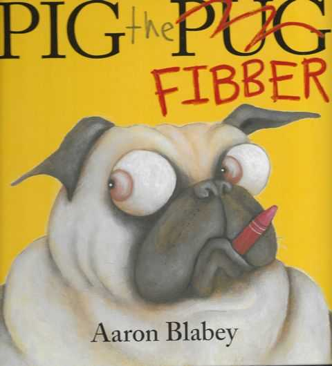 Pig the Fibber, Aaron Blabey