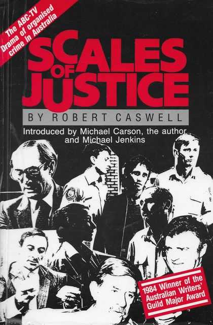 Scales of Justice, Robert Caswell [Inscribed by Author]